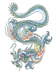 Tatouage éphémère dragon adulte