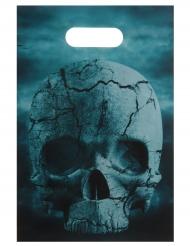 10 Sacs de fête en plastique Nuit d'horreur 16 x 23 cm