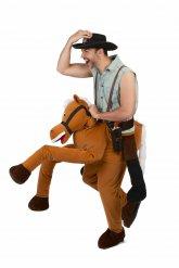 Déguisement homme à dos de cheval adulte