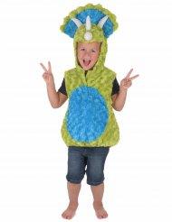 Déguisement dinosaure vert et bleu enfant