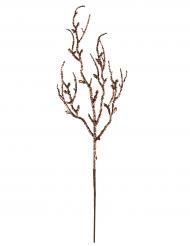 Branche pailletée cuivrée 9,5 x 35 cm