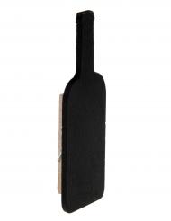6 Ardoises bouteille de vin sur pince 2.2 x 8.5 cm