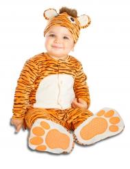 Déguisement petit tigre avec sucette luxe bébé
