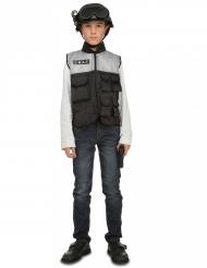 Déguisement SWAT avec accessoires enfant