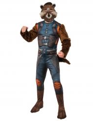 Déguisement avec masque Rocket Raccoon™ Les gardiens de la galaxie 2™ adulte