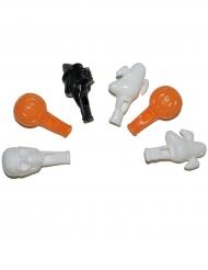 6 Sifflets 7 cm Halloween