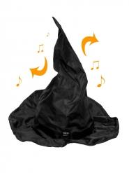Chapeau chantant et dansant 40 cm Halloween