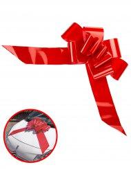Nœud à tirer géant rouge 15 x 58 cm