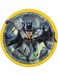 8 Assiettes en carton Batman ™ 23 cm