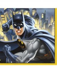 16 Serviettes en papier Batman ™ 33 x 33 cm