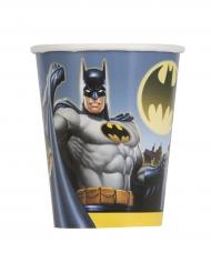 8 Gobelets en carton Batman ™ 25 cl