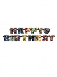 Bannière Happy Birthday Justice League ™ 182 cm