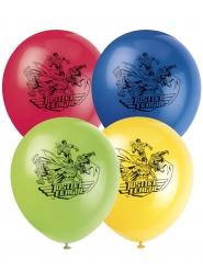 8 Ballons en latex Justice League ™