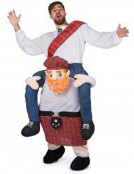 Déguisement homme à dos d'écossais adulte