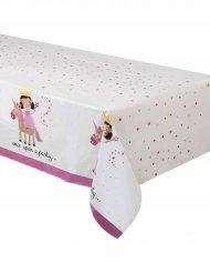 Nappe en plastique princesse et licorne 137 x 213 cm