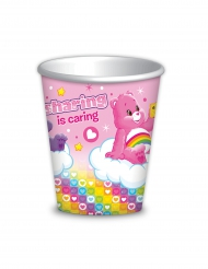 8 Gobelets Bisounours ™ 260 ml