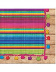 16 Serviettes en papier Poncho 33 x 33 cm