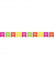 Guirlande multicolore Fiesta 25,4 cm x 2,7 m