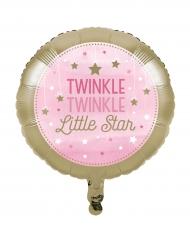 Ballon en aluminium fille One Little Star 45 cm