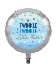 Ballon en aluminium garçon One Little Star 45 cm