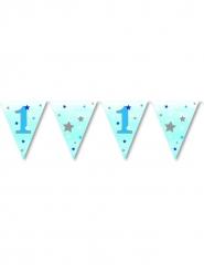 Guirlande fanions premier anniversaire garçon One Little Star 3.7 m