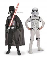 Bi Pack Dark Vador + Storm Trooper Star Wars ™ enfant