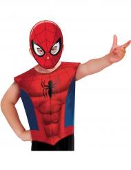 T-shirt et masque Spiderman ™ enfant