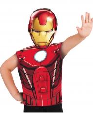 T-shirt et masque Iron Man ™ enfant