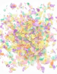 Mini sachet confettis papier ignifugé pastels 50 gr