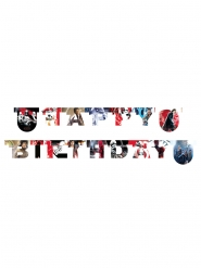 Guirlande Happy birthday Star Wars 8 The Last Jedi ™ 200 x 16 cm