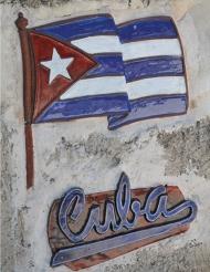 Décoration murale Cuba 30 x 41,5 cm