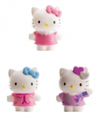 Lot de 3 figurines Hello Kitty™ 7 cm