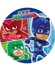 Disque en sucre Pyjamasques™ 21 cm
