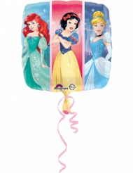 Ballon aluminium carré Princesses Disney ™ 43 cm
