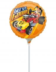 Ballon aluminium sur tige Mickey Roadster ™ 23 cm