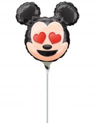 Petit ballon aluminium Mickey Mouse ™ Emoji ™  22 cm