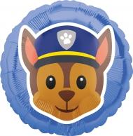 Ballon aluminium Chase Pat'Patrouille ™ Emoji ™ 43 cm