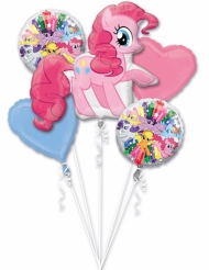 Bouquet de 5 ballons aluminium My Little Pony ™