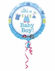 Ballon aluminium bleu It's a baby boy 43 cm