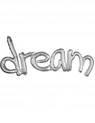 Ballon aluminium Argent Dream 93 x 45 cm