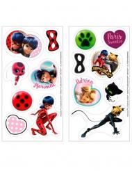 16 Mini disques en sucre Ladybug ™ 3,4 cm