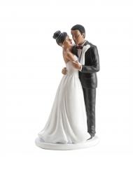 Figurine mariés mate danse 16 cm