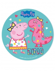 Disque en sucre Peppa Pig™ 20 cm