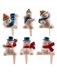 Figurine Bonhomme de neige 3 cm