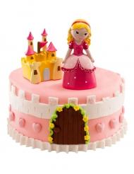 Kit de décorations gâteau Princesse 8,5 cm