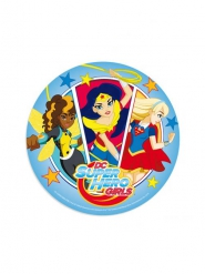 Disque en azyme DC Super Hero Girls ™ aléatoire 20 cm