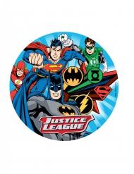Disque azyme Justice League ™ aléatoire 20 cm