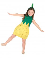 Déguisement robe ananas fille