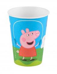 6 Gobelets en carton Peppa Pig™ 25 cl