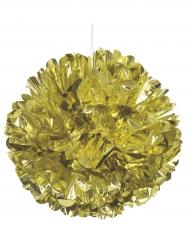 Boule décorative dorée 40 cm